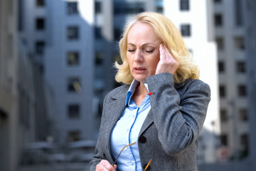 Ból głowy - menopauza - zdjęcie partnera
