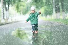Dziecko w deszczu - zdjęcie partnera