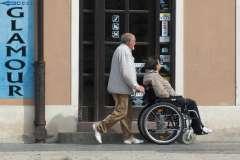 Wózek inwalidzki - zdjęcie partnera